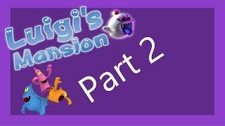 Luigi's Mansion (Mega Happening) Part 2 - Boss Baby