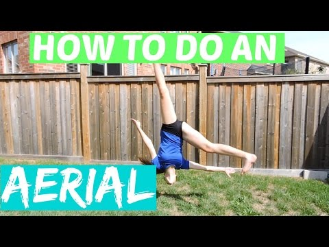 How To Do An Aerial FAST AND EASY!!!