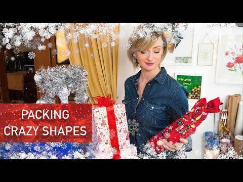 Packing crazy shaped gifts | live love learn no.11