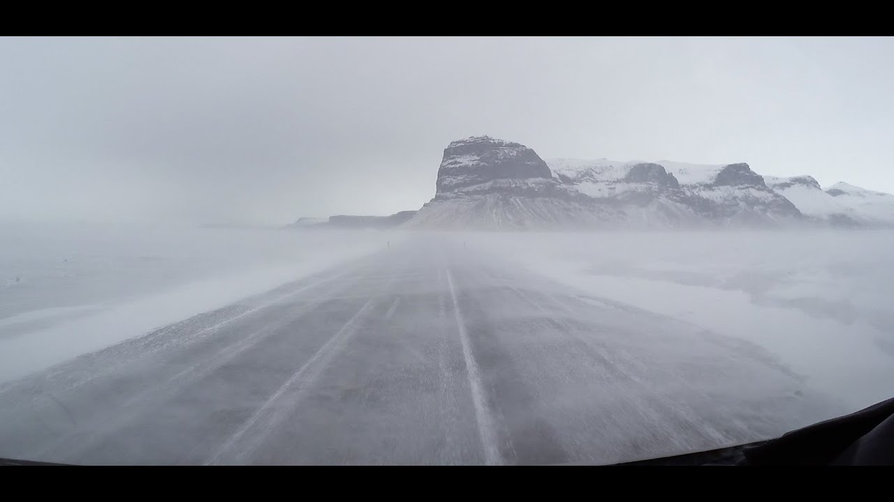 Iceland Ring Road Winter Driving - YouTube