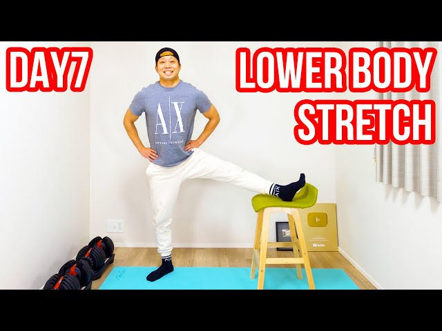 [DAY7] Lower body chair stretch! More effective than usual!