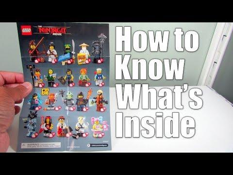 Lego Tutorial Lego Ninjago Movie Collectible Minifigure