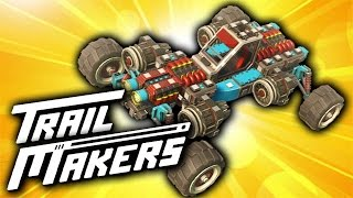 Paddle Boat Made of Tires?!? (Trailmakers Alpha Demo