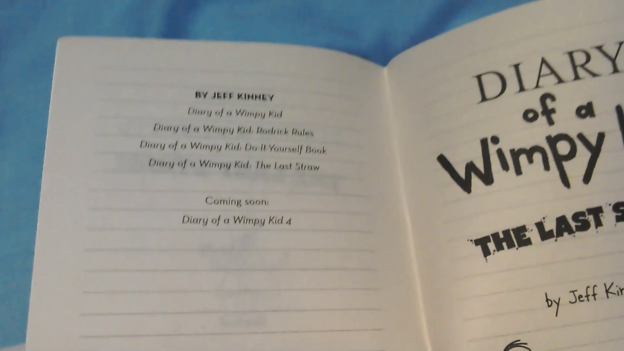 Diary of a wimpy kid the last straw book review youtube diary of a wimpy kid the last straw book review solutioingenieria Image collections