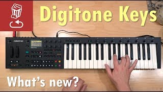 Digitone Keys - what's new? Review, tutorial and comparison to Digitone