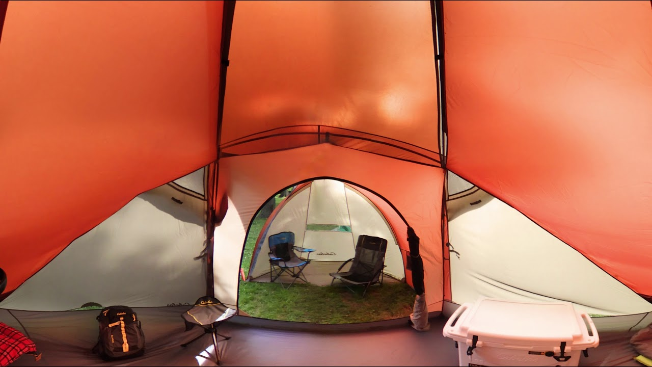 Cabelau0027s Westwind Dome 8-Person Tent with Fly | 360 Tour : cabelas west wind tent - memphite.com