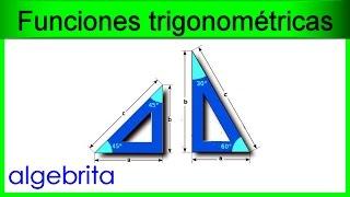 Hallar la hipotenusa si conocemos un cateto y un ángulo Funciones trigonométricas 363