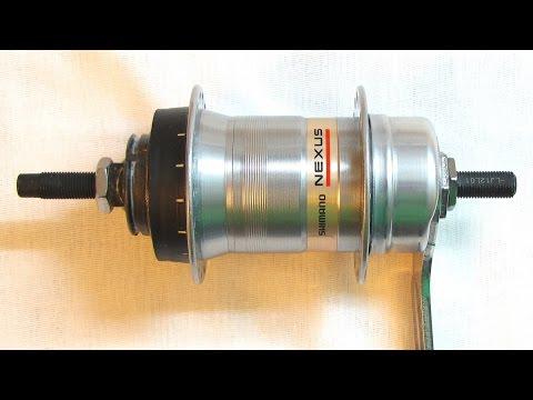 Разборка планетарной втулки Shimano Nexus Inter 3