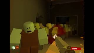 (Roblox) MMC Zombies Project - Deserted Training Area (Solo Gameplay)
