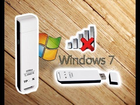 TP-LINK TL-WN821N Компьютер не ловит WiFi