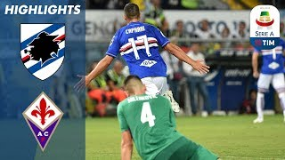 Sampdoria 1-1 Fiorentina | Simeone Goal Cancelled Out by Caprari | Serie A