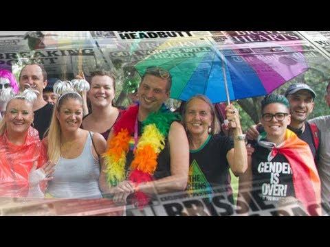 Mark Latham: This photo proves Australian Greens want to abolish gender
