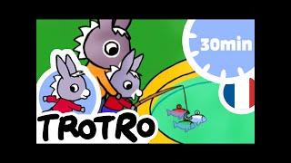 TROTRO 🎣 Trotro à la pêche |dessin animé|HD|2020