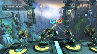 ratchet clank all 4 one it was like that when we got here trophy