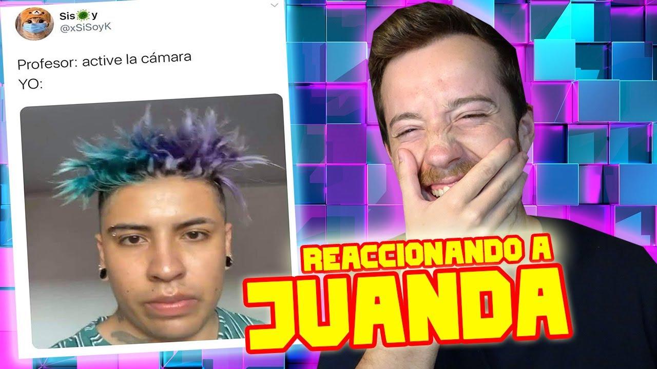 ESPAÑOL REACCIONA a MEJORES STORIES de JUANDA *parte 6* 😱