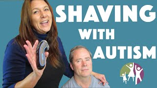 Families With Autistic Children - Shaving Your Autistic Son