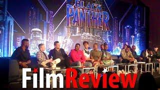 Black Panther Press Conference - Andy Serkis & Martin Freeman