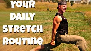Best 30 Min Daily Stretching Routine for Flexibility & Pain Relief - ALL Level Full Yoga Stretch