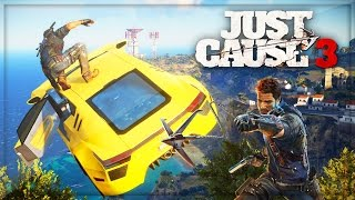 Just Cause 3 Gameplay! Freeroam Funny Moments (JC3 Just Cause 3 Gameplay)