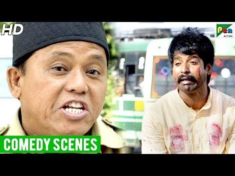 Saamy² Best Comedy Scenes | New Released Full Hindi Dubbed Movie | Vikram, Keerthy Suresh, Aishwarya