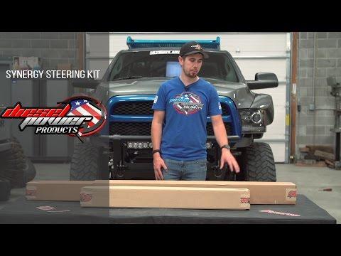 Heavy Duty: Synergy Steering kit