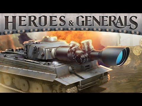 SNIPING WITH A TANK | Heroes & Generals