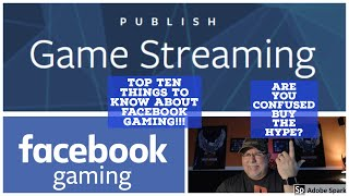 Top ten things about facebook gaming