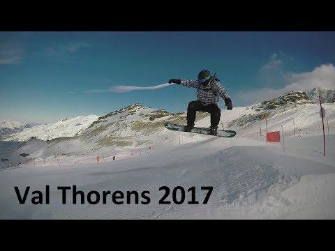 Val Thorens 2017 - Snowboard Vacation