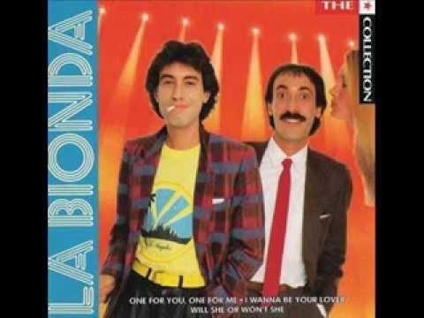 I wanna be your lover - La Bionda
