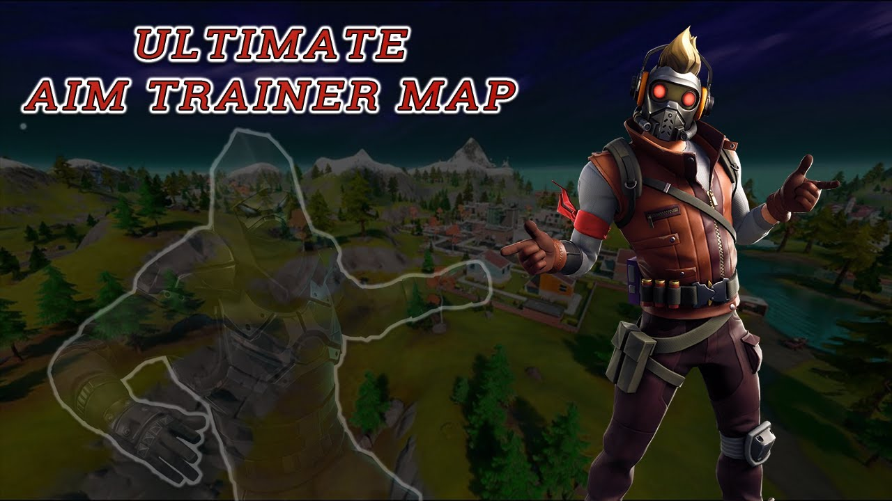 Fortnite - ULTIMATE AIM TRAINER MAP (AIM COURSE) - YouTube