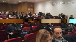 Learning Mobility in Covilha (PT) - Lesson of Professor, Antonio Putini - La Sapienza University)