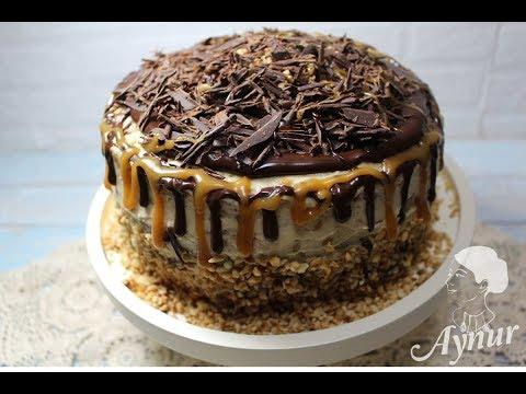 Erdnuss-Kreme Trifft Karamell Und  Schokolade Auf Einem Saftigem Kuchen I Einfach Köstlich