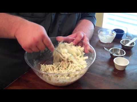 Coleslaw Recipe for BBQ - how to make coleslaw for pulled pork sandwiches