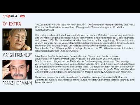 """Franz Hörmann / Margrit Kennedy """"Im Zeit-Raum: welches Geld hat noch Zukunft?"""""""