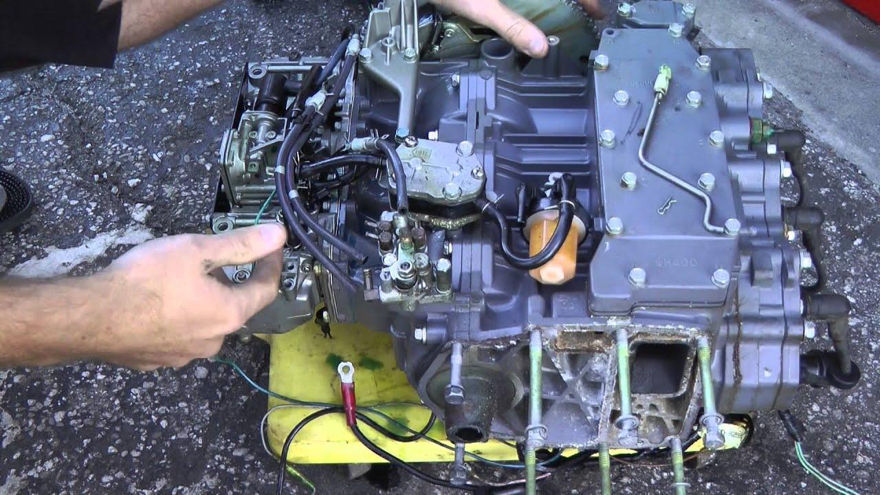 maxresdefault how to disable bypass a 2 stroke outboard oil injection system yamaha outboard oil tank wiring diagram at alyssarenee.co