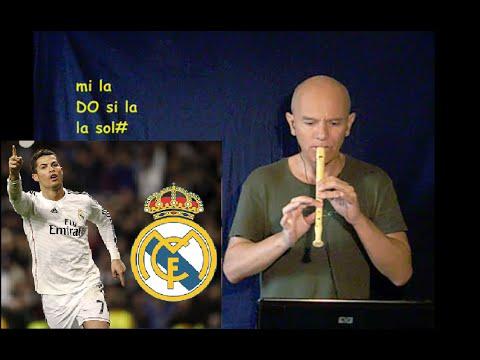 Inno del Real Madrid (MERAVIGLIOSO E FACILE) + spartito
