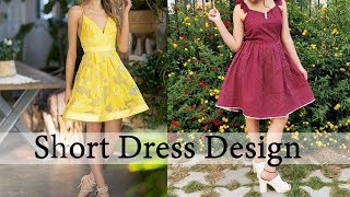Short Dress Design Collection | Short Frock For Ladies | New Fashion Dresses