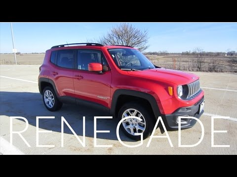 2017 Jeep Renegade Latitude | Full Rental Car Review and Test Drive