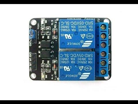 Modulo Reles Para Arduino O Pic
