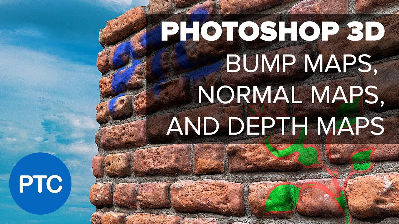 Photoshop 3D - Using Depth Maps, Bump Maps, and Normal Maps