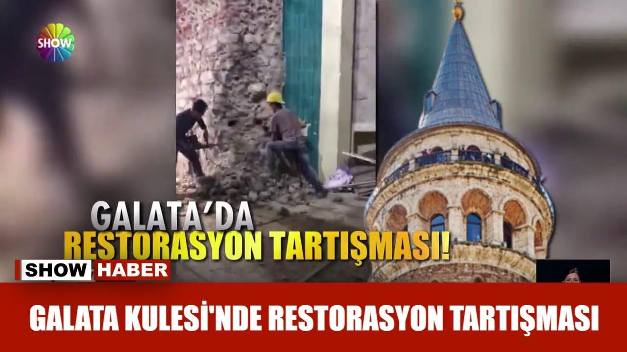 Galata Kulesi'nde restorasyon tartışması