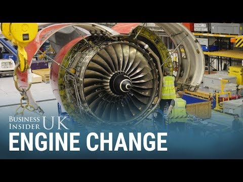 How engineers replace a 5-tonne aircraft engine in 24 hours
