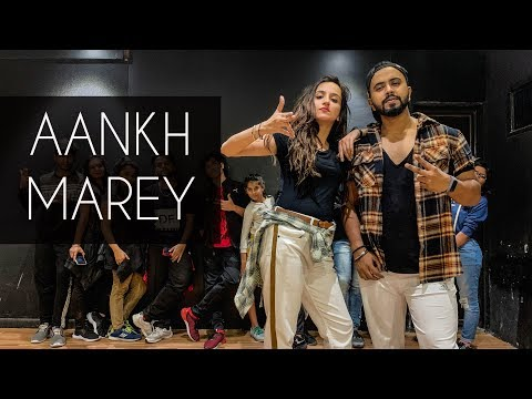 AANKH MAREY | SIMMBA | Tejas Dhoke Choreography | Dancefit Live