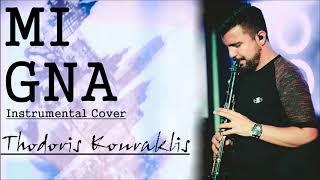 Mi Gna -Thodoris Kouraklis Instrumental Cover 2018