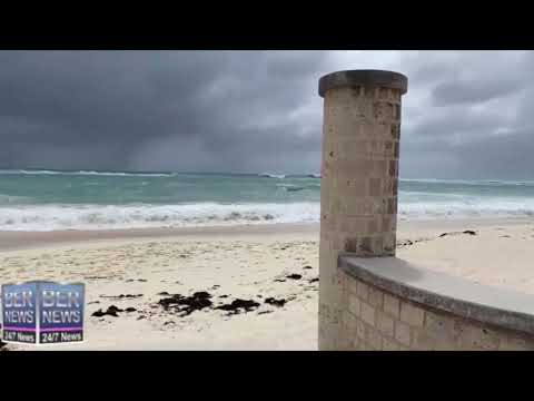 Before/After Hurricane Paulette In Bermuda, September 13/14 2020