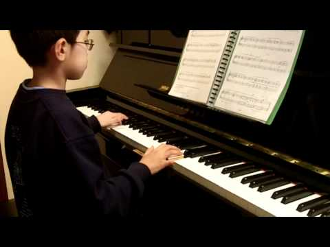 ABRSM Piano 2011-2012 Grade 2 C:3 C3 American Folk Down by the Riverside Original by NN