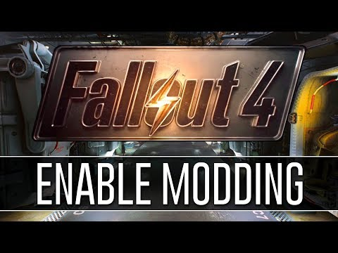 How to Enable Modding for Fallout 4 (2018) - PERMANENTLY