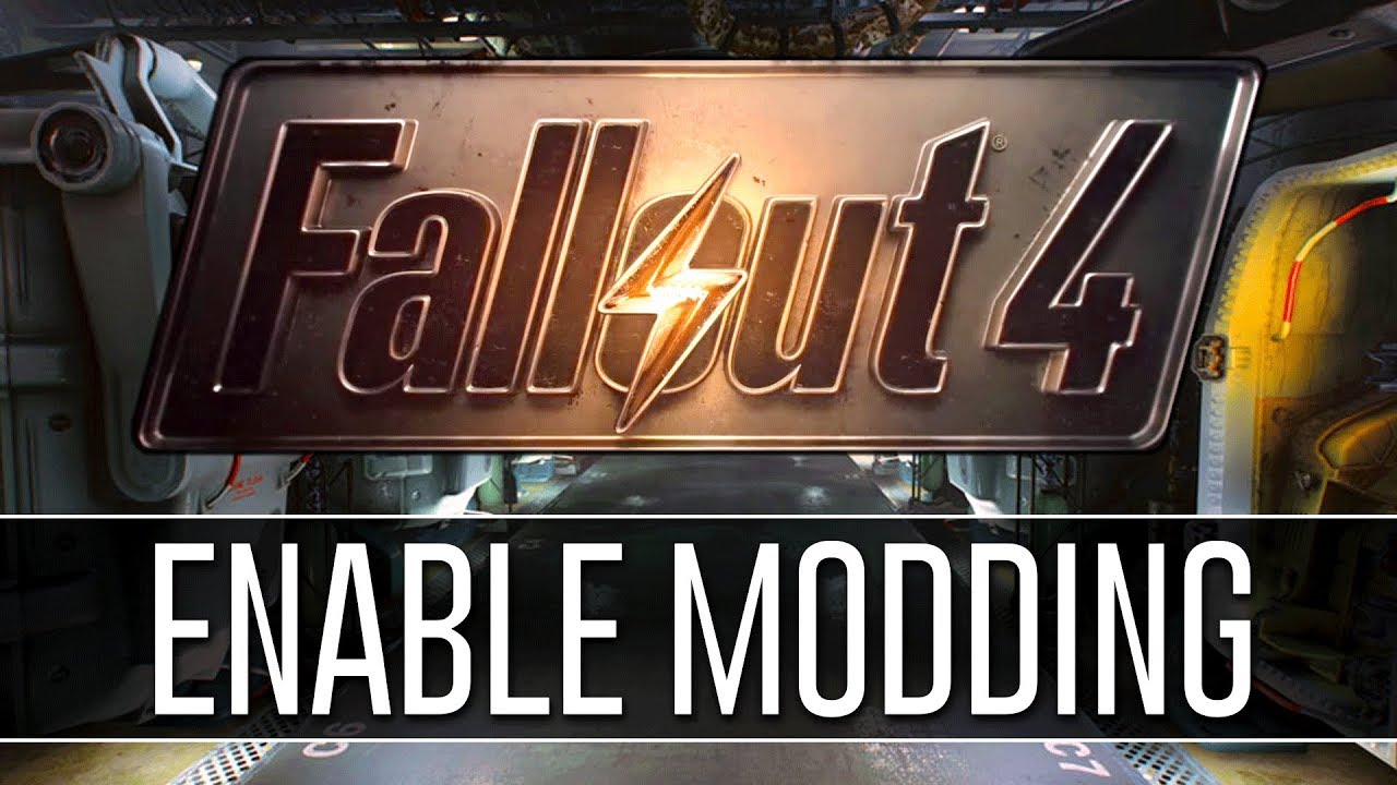 How to Enable Modding for Fallout 4 (2018) - PERMANENTLY!