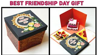 Diy / Friendship Day Gift During Qurantine / Last Minute Friendship Day Gift / Explosion Box 2020