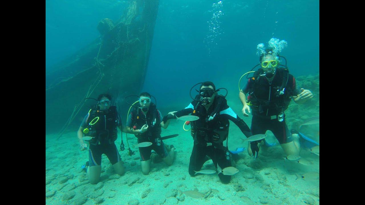 Diving in marmaris turkey